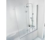 HSK Badewannenaufsatz Premium Softcube, 2-teilig, Sondermaß