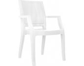Design Bistrostuhl / Gartenstuhl ARTHUR, idela für Balkon, Terrasse, Bistro - stapelbar, wasserabweisend, UV-beständig