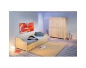 Kinderzimmermöbel Set aus Kiefer Massivholz mit Gästebett (2-teilig)