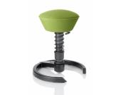 Bürostuhl / Arbeitshocker SWOPPER AIR Lime-Green mit Kombigleiter