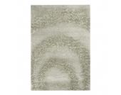 Teppich Hochflor Design - Beige - 120 x 170 cm, Home24 Deko