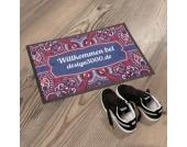 Personalisierbare Fußmatte Perserteppich