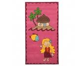 Kinderteppich Maui - Pink - 80 cm x 150 cm, Theko die markenteppiche