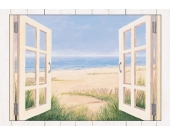 Home affaire Wandbild mit Designer-Rahmen »Spring Day Morning«, Größe: 112,4/82,4 cm