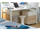 Schlafwelt Schreibtisch, weiß