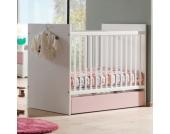 Vipack Babybett Valentine Weiß/Rosa