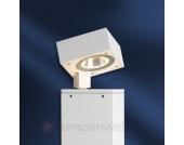 Wegeleuchte Yari aus weißem Aluminium mit LED