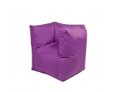Outdoor Sitzsack in Lila Sesselform