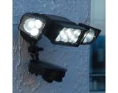 Secura LED-Außenstrahler m. Bewegungsmelder