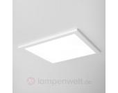 Ultraflache LED Deckeneinbauleuchte SUN 9, weiß 3K