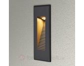Indirekt scheinende LED-Wandeinbauleuchte Nuno