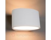 Überstreichbare Wandlampe Ika für Halogenlampe