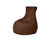 Outdoor Sitzsack als Sessel Braun