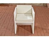 Polyrattan Sessel TAHITI mit GRATIS Sitzkissen, Aluminiumgestell, aus bis zu 4 Rattan-Farben wählen