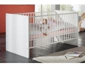 Schlafwelt Babybett, weiß