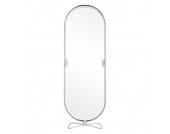 Standspiegel System 1 2 3 Mirror - Verchromt Stahlrohr Verchromt Silber, Verpan