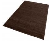 my home Hochflor-Teppich »Bodrum«, braun, 60x90 cm