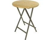 Stehtisch BAYREUTH Tisch Gartentisch Holztisch Klapptisch Gartenmöbel Natur 81481