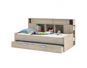 Funktionsbett Sherwood - Eiche Sonoma Eiche, Kids Club Collection