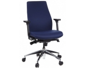 Bürostuhl / Chefsessel ERGO-TEC 200 dunkelblau hjh OFFICE