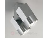 Decken- oder Wandstrahler STYLE DUO 2-flammig