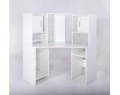 G + K Möbelvertriebs Eckschreibtisch Dornhagen, Weiß