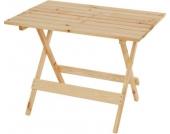 heute-wohnen Holztisch Barcelona, Klapptisch Gartentisch 100x74x71cm, massiv natur
