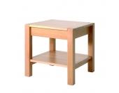 Beistelltisch Dacapo - mit Schublade - Buche, Home Design