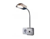 TRIO LEUCHTEN LED-Steckerlampe, silberfarben