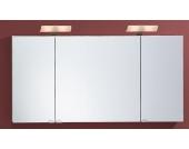 Lanzet Spiegelschrank 120 Weiß L2 3T