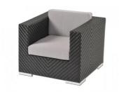 Sessel inkl. Polster Veria aus Polyrattan