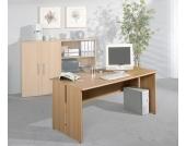 Computer-SChreibtisch in Buche Dekor