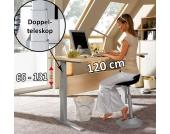 PC-Tisch in Ahorn Dekor