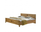 Komfortbett aus Erle teilmassiv