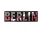 Spiegel mit Berlin Schriftzug 140 cm breit