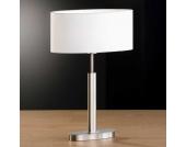 Tischlampe in Weiß