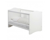 Babybett Steens for Kids - MDF Weiß, Steens